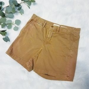Anthro CHINOS Brown Shorts 28